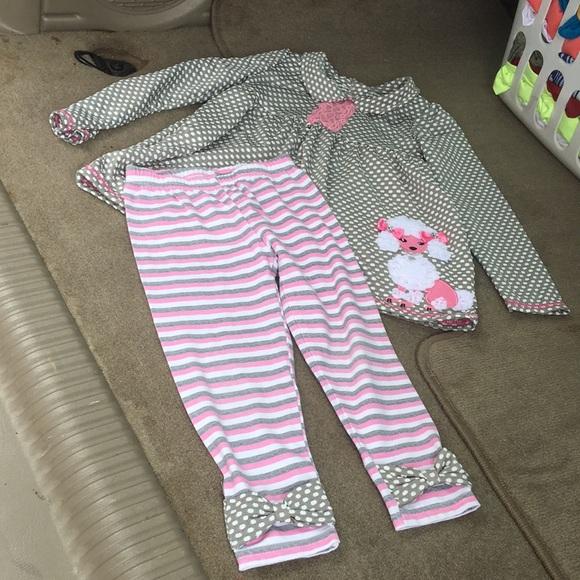 NANNETTE Kids 4T 2 pc outfit